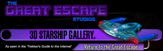 The Great Escape Studio's 3D Starship Archives