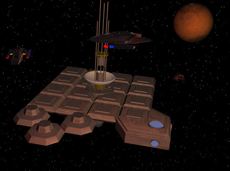 A Space Array near Cardassian Space